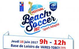 Festival Beach Soccer Sport Adapté